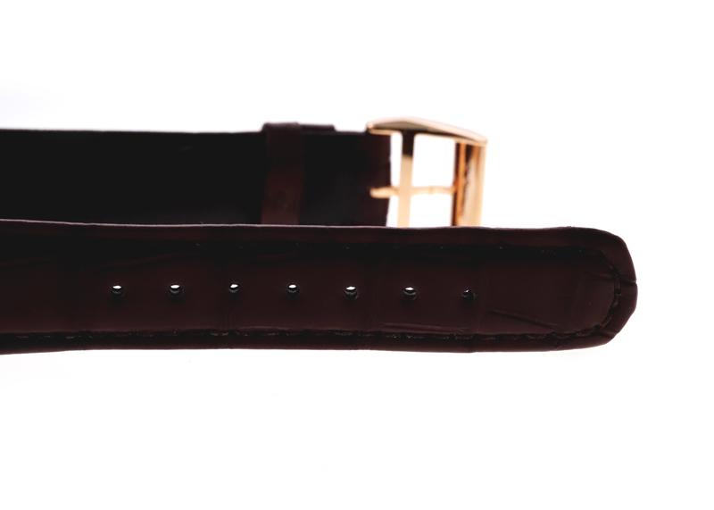 A.ランゲ&ゾーネ 191.032 ランゲ1 RG シルバー文字盤 手巻き レザー