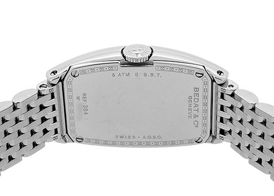 ベダ&カンパニー 384.011.600 レディース No.3 ロングトノー SS シルバー文字盤 クォーツ ブレスレット