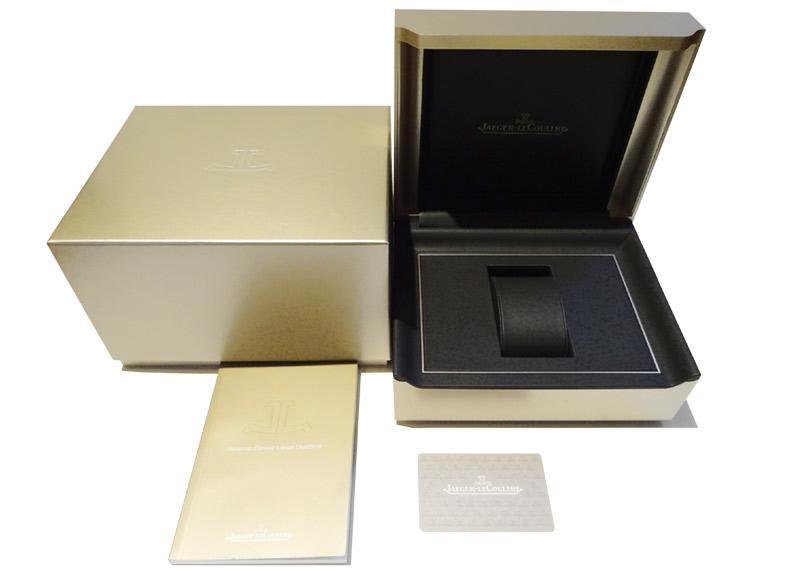 【中古】ジャガールクルト Q3838420 レベルソ クラシック ラージ・デュオ SS シルバー文字盤 自動巻き レザー