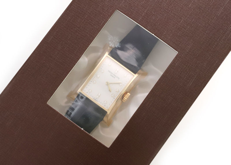 【レストア】パテックフィリップ 4900J パゴダ YG シルバー文字盤 手巻き レザー
