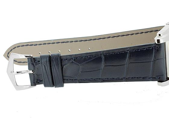 【中古】パテックフィリップ 5124G-011 ゴンドーロ WG ブルー文字盤 手巻き レザー