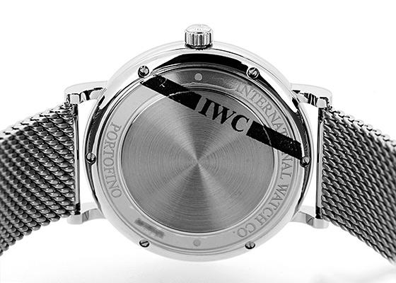 IWC IW356505 ポートフィノ SS シルバー文字盤 自動巻き ブレスレット