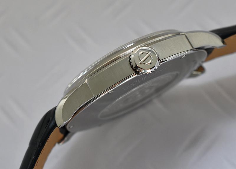 ボーム&メルシェ MOA10421 クリフトン GMT SS 白文字盤 自動巻き レザー