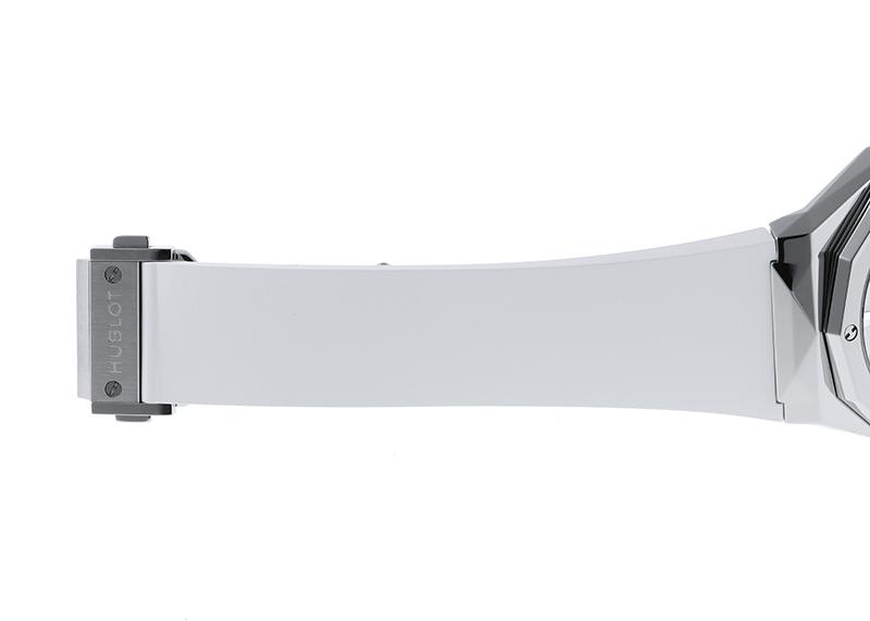 ウブロ 550.NS.2200.RW.ORL20 クラシックフュージョン オーリンスキー チタニウム ホワイト TI 白文字盤 自動巻き ラバー