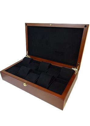 ボクシーデザイン WB10-BR ウッドコレクションボックス 10本用