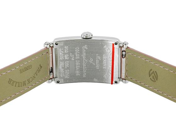 フランクミュラー 902QZ COL DRM レディース ロングアイランド カラードリーム SS シルバー文字盤 クォーツ レザー