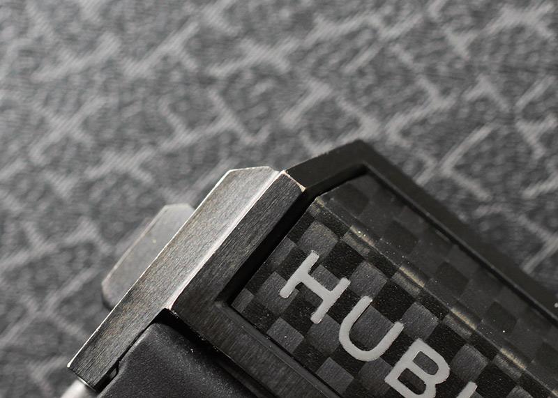 【中古】ウブロ 411.QX.1170.RX ビッグバン ウニコ  カーボン カーボン スケルトン文字盤 自動巻き ラバー