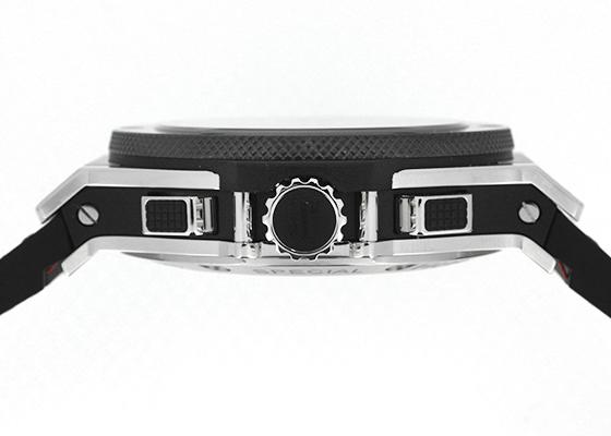 ウブロ 301.SB.131.LR.TRS15 ビッグバン USAスペシャルエディション SS カーボン文字盤 自動巻き ラバー/レザー