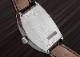 【中古】フランクミュラー 7880S6GG トノーカーベックス グランギシェ イタリア限定 SS 白文字盤 自動巻き レザー