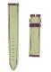 フランクミュラー レザーストラップ 2852用 クロコダイル パープル(艶有) 17-16mm