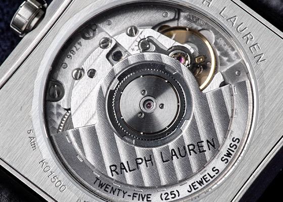 【未使用品】ラルフローレン RLR0150701 867 35MM SS 白文字盤 自動巻き レザー