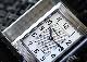 ジャガールクルト Q2538420 レベルソ クラシック ミディアム SS シルバー文字盤 自動巻き レザー