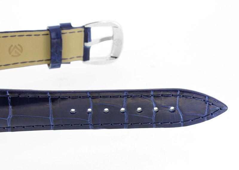 フランクミュラー 7851SCDT トノーカーベックス SS ブルー文字盤 自動巻き レザー