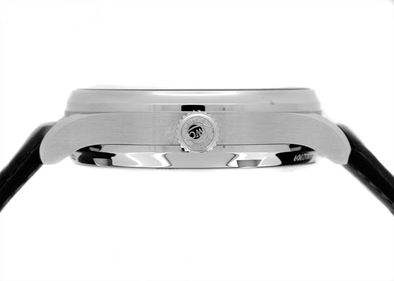 IWC IW500710 ポルトギーゼ・オートマティック 7DAYS SS ブルー文字盤 自動巻き レザー