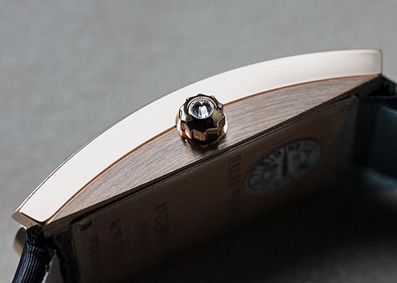 ハリーウィンストン AVCQHM16RR017 レディース アヴェニューC ミニ ダイヤモンドベゼル RG 白シェル文字盤 クォーツ サテン
