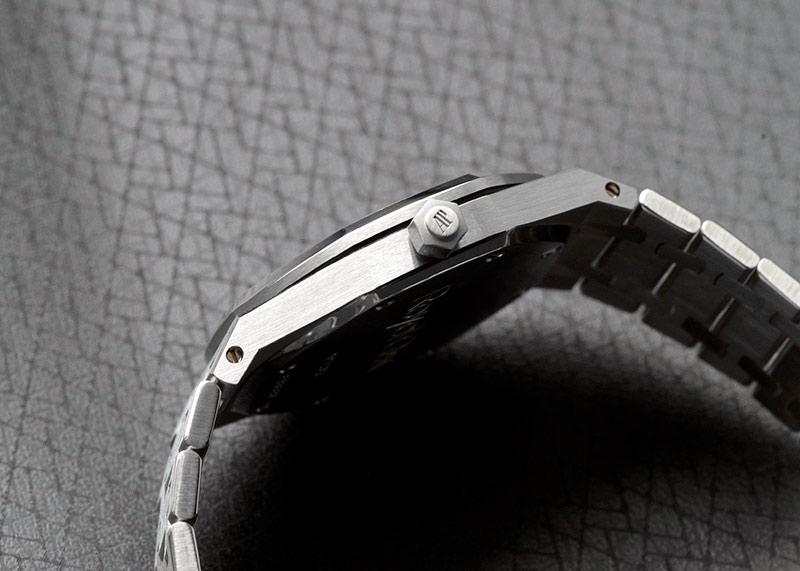 【中古】オーデマピゲ 14790ST.OO.0789ST.09 ロイヤルオーク 36mm SS ブルー文字盤 自動巻き ブレスレット