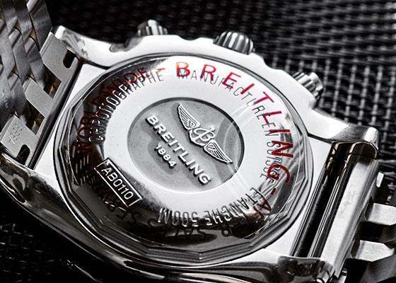【中古】 ブライトリング AB0110 クロノマット 44 ローマンエディション SS 黒文字盤 自動巻き ブレスレット【日本限定】