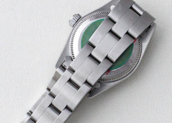【1999年製】ロレックス 76080 レディス オイスターパーペチュアル SS 黒文字盤 自動巻き ブレスレット