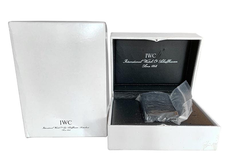 【中古】IWC IW325307 マーク15(mark XV) SS 黒文字盤 自動巻き ブレスレット【希少モデル】