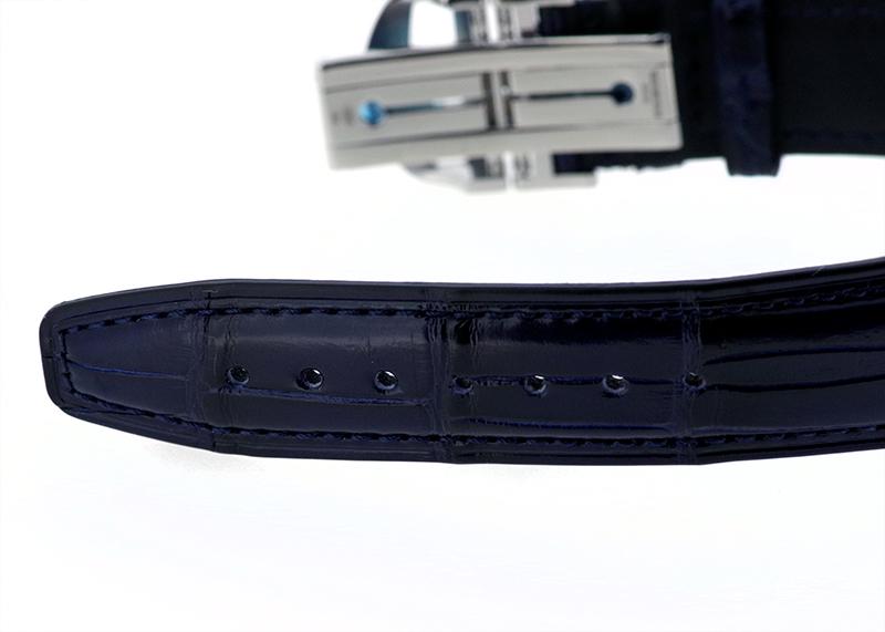 IWC IW371605 ポルトギーゼ クロノグラフ SS シルバー文字盤/BL針 自動巻き レザー