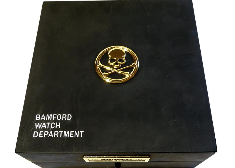【中古】BAMFORD×MASTERMIND コスモグラフ デイトナ SS 黒文字盤 自動巻き ブレスレット【委託品】