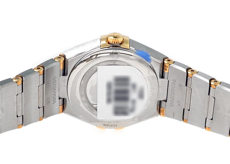 オメガ 131.20.28.60.02.002 コンステレーション YG&SS シルバー文字盤 クォーツ ブレスレット