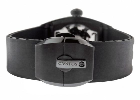 クストス CVT-JET2-SL FGDC チャレンジ ジェットライナー� フォージドカーボン  スケルトン文字盤 自動巻き ラバー