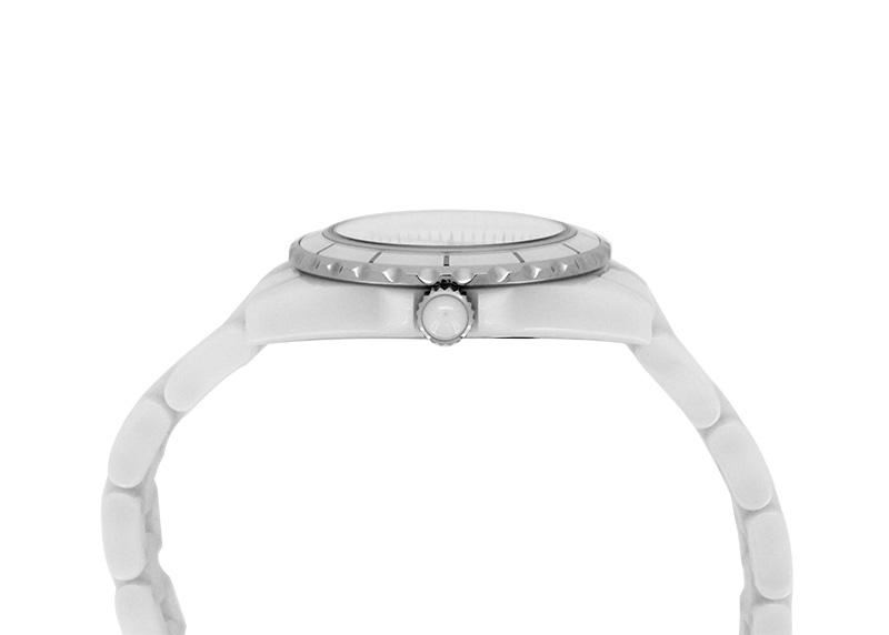 シャネル H2570 レディース J12 29mm 白セラミック 白シェル文字盤/8Pダイヤモンド クォーツ ブレスレット