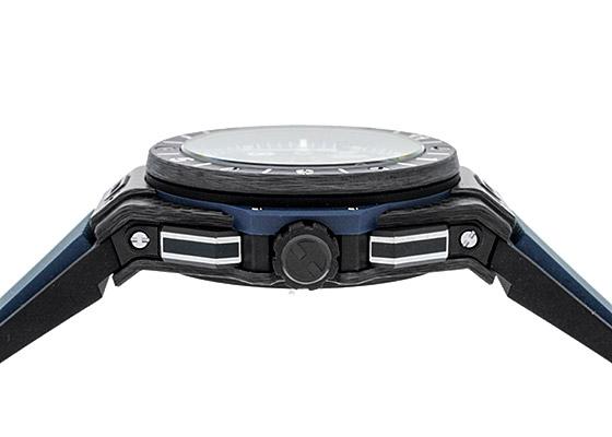 ウブロ 471.QX.7127.RX ビッグバン ウニコ GMT カーボン スケルトン文字盤 自動巻き ラバー