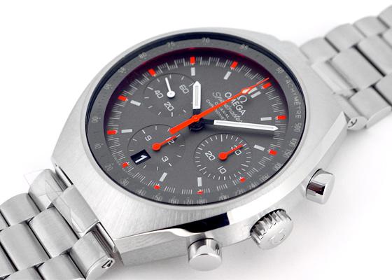 オメガ 327.10.43.50.06.001 スピードマスター マークII クロノグラフ SS グレー文字盤 自動巻 ブレスレット