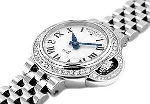 ベダ&カンパニー 827.041.600 レディース No.8 ダイヤモンドベゼル SS シルバー文字盤 クォーツ ブレスレット