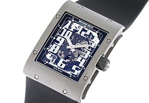 リシャール ミル RM016 オートマティック TI スケルトン 自動巻き サテン