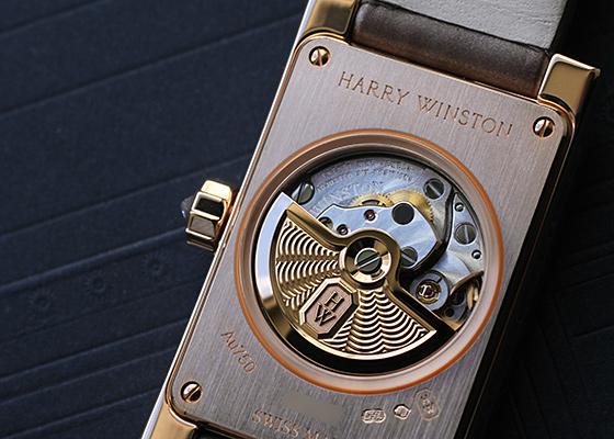 【お取り寄せ可能】ハリーウィンストン AVEAHM21RR001 レディース アヴェニュー クラシック オートマティック RG 白シェル文字盤 自動巻き レザー