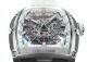【中古】クストス CVT-JET-SL ST WHRB チャレンジ ジェットライナー 10周年記念モデル SS スケルトン文字盤 自動巻き ラバー