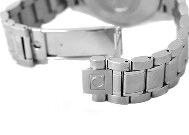 【中古】オメガ 3513.50 スピードマスター デイト SS 黒文字盤 自動巻き ブレスレット