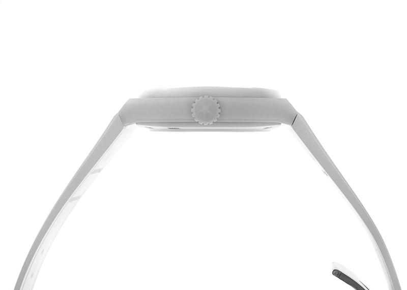 ゼニス 49.9002.670/01.R792 デファイ クラシック ホワイトセラミック CE スケルトン文字盤 自動巻き ラバー