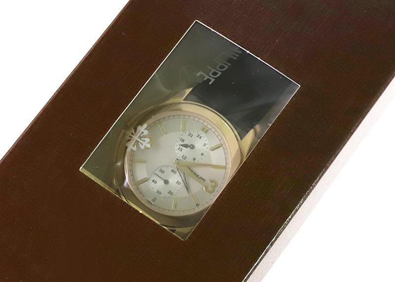【レストア】パテックフィリップ 5134J-011 カラトラバ トラベルタイム YG シルバー文字盤 手巻き レザー