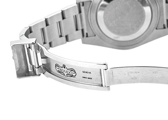 【中古】【正規品】ロレックス 116710LN GMTマスターII SS 黒文字盤 自動巻き ブレスレット