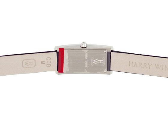 ハリーウィンストン AVCQHM16WW041 レディース アヴェニューC ミニ ダイヤモンドサイドベゼル WG シルバー文字盤/ダイヤモンド クォーツ サテン