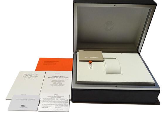 【中古】IWC IW503302 ポルトギーゼ パーペチュアルカレンダー RG 白文字盤 自動巻き レザー