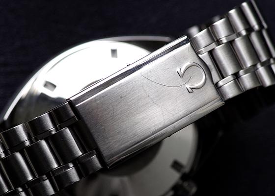 【中古】オメガ ST145.017 スピードマスター プロフェッショナル マークII SS 黒文字盤 手巻き ブレスレット