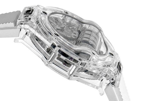 ウブロ 911.JX.0102.RW ビッグバンMP-11 パワーリザーブ 14デイズ サファイア スケルトン文字盤 手巻き ラバー【世界限定200本】