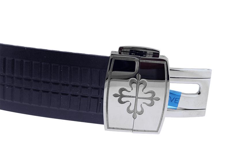 【未使用品】パテックフィリップ 5168G-001 アクアノート WG ブルー文字盤 自動巻き ラバー