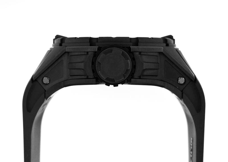 【中古】リシャールミル RM028 オートマティック ダイバーズ 30本限定 TI(DLCコーティング) スケルトン 自動巻き ラバー