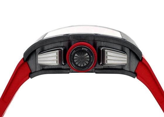 【中古】【50本限定】リシャールミル RM011 オートマティック フライバック クロノグラフ フェリペマッサ シンガポールグランプリ TI/DLC スケルトン文字盤 自動巻き ラバー