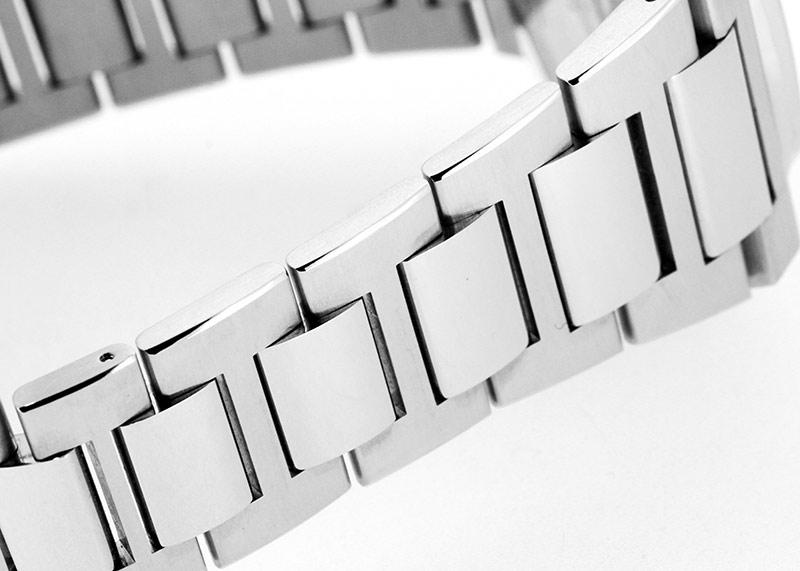 【未使用品】ジラールペルゴ 81010-11-231-11A ロレアート 42mm SS グレー文字盤 自動巻き ブレスレット