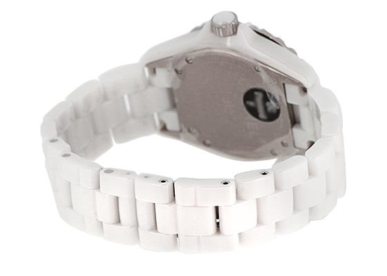 【中古】【美品】シャネル H0970 J12 ホワイトセラミック 白文字盤 自動巻き ブレスレット