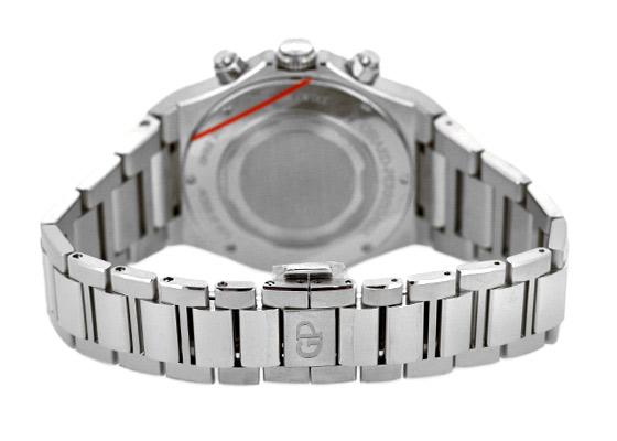 【未使用品】ジラールペルゴ 81040-11-431-11A ロレアート クロノグラフ 38mm SS ブルー文字盤 自動巻き ブレスレット