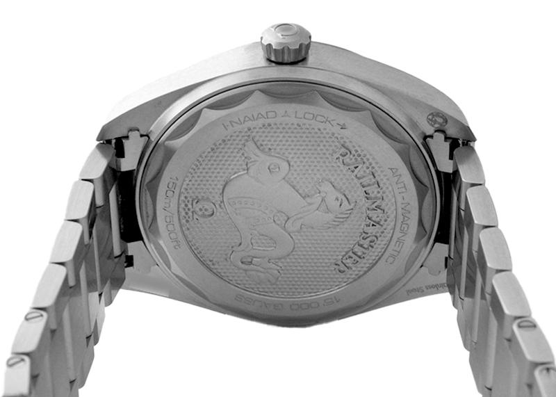 【お取り寄せ可能】オメガ 220.10.40.20.06.001 レイルマスター SS グレー文字盤 自動巻き ブレスレット