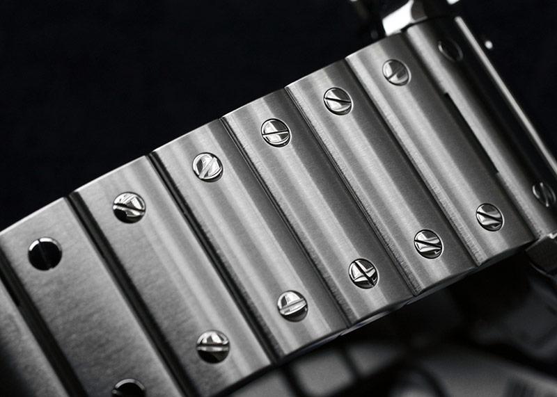 カルティエ WSSA0030 サントス ドゥ カルティエ LM SS ブルー文字盤 自動巻き ブレスレット/レザー